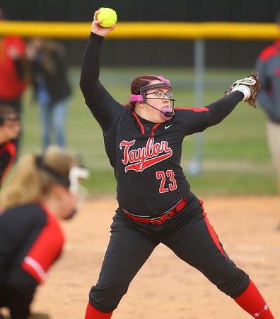 4-3-19<br /> Kokomo vs Taylor softball<br /> <br /> Kelly Lafferty Gerber | Kokomo Tribune