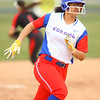 4-3-19<br /> Kokomo vs Taylor softball<br /> Kokomo's Janessa Reece heads to third.<br /> Kelly Lafferty Gerber | Kokomo Tribune