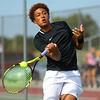 8-29-19<br /> Western boys tennis<br /> 1 singles Palmer Harrell<br /> Kelly Lafferty Gerber | Kokomo Tribune