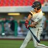 8-1-19<br /> Jackrabbits vs Spiders<br /> Brantley Johnson bats.<br /> Kelly Lafferty Gerber | Kokomo Tribune