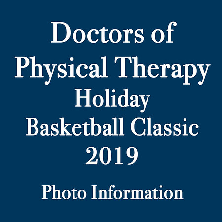 Welcome to the photo galleries for the 2019 Doctors of Physical Therapy Holiday Basketball Classic. All galleries are now posted — we photographed at least one game for each team (see below). <br /> <br /> Individual photos are available for purchase as prints or digital downloads directly from the galleries. In addition, you have the option of buying all photos for any single team on a CD for $225. For that option, please email me at jeff@varitay.com if you are interested.<br /> <br /> We photographed these games:<br /> Thursday:<br /> Bradford vs. St. Joseph Girls<br /> Wilmot vs. Bradford Boys<br /> Racine Lutheran vs. Tremper Boys<br /> Friday:<br /> Burlington vs. Prairie Boys<br /> St. Joseph vs. Westosha Boys<br /> West Allis Central vs. Indian Trail Boys<br /> Saturday:<br /> Parker vs. Westosha Girls<br /> Prairie vs. Indian Trail Girls<br /> Tremper vs. St. Joseph Girls