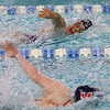 Northwestern's Ann Bourff swimming the 200 free relay during the swim meet between Kokomo HS and Northwestern HS on Monday December 16, 2019. <br /> Tim Bath   Kokomo Tribune