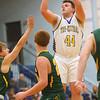 12-13-19<br /> Tri Central vs Eastern boys basketball<br /> TC's Conner Hindman shoots.<br /> Kelly Lafferty Gerber | Kokomo Tribune