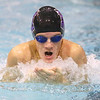 12-5-19<br /> Northwestern swimming<br /> Caleb Champion swimming the breaststroke in the boys 200 yard medley relay.<br /> Kelly Lafferty Gerber | Kokomo Tribune