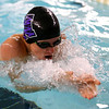Northwestern's Caleb Champion swimming the100 breaststroke during the swim meet between Kokomo HS and Northwestern HS on Monday December 16, 2019. <br /> Tim Bath | Kokomo Tribune