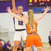 12-10-19<br /> Northwestern vs Hamilton Heights girls basketball<br /> Ellie Boyer launches a pass.<br /> Kelly Lafferty Gerber | Kokomo Tribune