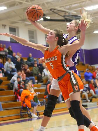 12-10-19<br /> Northwestern vs Hamilton Heights girls basketball<br /> <br /> Kelly Lafferty Gerber   Kokomo Tribune