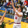12-27-19<br /> Kokomo vs Eastern boys basketball in the Phil Cox Memorial Holiday Tournament<br /> Kokomo's Bobby Wonnell puts up a shot.<br /> Kelly Lafferty Gerber | Kokomo Tribune
