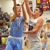 12-20-19<br /> Northwestern vs Maconaquah boys basketball<br /> Mac's Hayden Maiben shoots.<br /> Kelly Lafferty Gerber | Kokomo Tribune