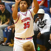 12-27-19<br /> Kokomo vs Eastern boys basketball in the Phil Cox Memorial Holiday Tournament<br /> Kokomo's Shayne Spear shoots.<br /> Kelly Lafferty Gerber | Kokomo Tribune