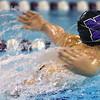 12-5-19<br /> Northwestern swimming<br /> Ann Bourff swims the butterfly in the girls 200 yard medley relay.<br /> Kelly Lafferty Gerber | Kokomo Tribune