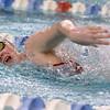 12-11-9<br /> Kokomo swimming<br /> Shelby Wells in the girls 50 yard freestyle.<br /> Kelly Lafferty Gerber | Kokomo Tribune