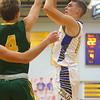 12-13-19<br /> Tri Central vs Eastern boys basketball<br /> TC's Michael Carr shoots.<br /> Kelly Lafferty Gerber | Kokomo Tribune