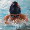 Kokomo's Stormy Blake swimming the 200 yard medley relay during the swim meet between Kokomo HS and Northwestern HS on Monday December 16, 2019. <br /> Tim Bath | Kokomo Tribune