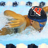 12-3-19<br /> Western swimming<br /> Palmer Harrell swims the butterfly in the boys 200 IM.<br /> Kelly Lafferty Gerber | Kokomo Tribune