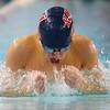 12-11-9<br /> Kokomo swimming<br /> Brayden York in the boys 200 IM.<br /> Kelly Lafferty Gerber | Kokomo Tribune