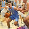 12-20-19<br /> Northwestern vs Maconaquah boys basketball<br /> Mac's Hayden Maiben drives the ball to the basket.<br /> Kelly Lafferty Gerber | Kokomo Tribune