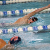 Northwestern's Caleb Champion swimming the 500 free during the swim meet between Kokomo HS and Northwestern HS on Monday December 16, 2019. <br /> Tim Bath   Kokomo Tribune