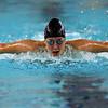 Northwestern's Ann Rourff swimming the 200 yard medley relay during the swim meet between Kokomo HS and Northwestern HS on Monday December 16, 2019. <br /> Tim Bath | Kokomo Tribune