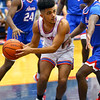 Saturday afternoon action between the Kokomo Wildcats and South Bend Adams Eagles on December 28, 2019.<br /> Tim Bath | Kokomo Tribune