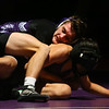 12-19-19<br /> Northwestern vs Marion wrestling<br /> NW's Bodey Henry defeats Marion's Obett Martinez in the 138.<br /> Kelly Lafferty Gerber | Kokomo Tribune