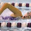 12-5-19<br /> Northwestern swimming<br /> Leah Parrott in the girls 200 freestyle.<br /> Kelly Lafferty Gerber | Kokomo Tribune