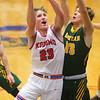 12-27-19<br /> Kokomo vs Eastern boys basketball in the Phil Cox Memorial Holiday Tournament<br /> Kokomo's Jackson Richards shoots.<br /> Kelly Lafferty Gerber | Kokomo Tribune