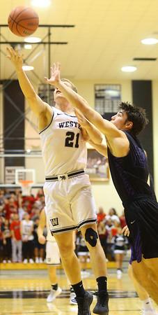 12-6-19<br /> Western vs Northwestern boys basketball<br /> <br /> Kelly Lafferty Gerber   Kokomo Tribune