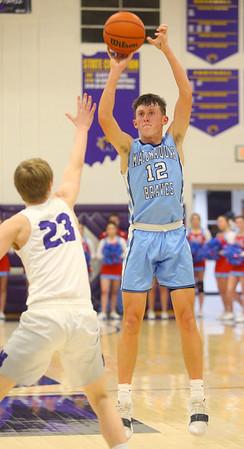 12-20-19<br /> Northwestern vs Maconaquah boys basketball<br /> Mac's Cole Borden shoots.<br /> Kelly Lafferty Gerber   Kokomo Tribune
