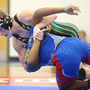 12-4-19<br /> Kokomo vs Eastern wrestling<br /> Eastern's Tytus Morrisett defeats Kokomo's Kymani Howad in the 160.<br /> Kelly Lafferty Gerber | Kokomo Tribune
