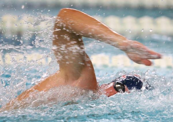 12-11-9<br /> Kokomo swimming<br /> Loan Pitner in the boys 50 yard freestyle.<br /> Kelly Lafferty Gerber | Kokomo Tribune