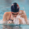 12-11-9<br /> Kokomo swimming<br /> Emily Lucas in the girls 200 yard medley relay.<br /> Kelly Lafferty Gerber | Kokomo Tribune