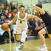 12-6-19<br /> Western vs Northwestern boys basketball<br /> Western's Jett Engle takes the ball down the court.<br /> Kelly Lafferty Gerber | Kokomo Tribune