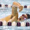 12-5-19<br /> Northwestern swimming<br /> Mason Harrell in the boys 200 freestyle.<br /> Kelly Lafferty Gerber | Kokomo Tribune
