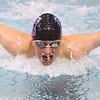 12-5-19<br /> Northwestern swimming<br /> Drew Gingerich in the boys 200 IM.<br /> Kelly Lafferty Gerber | Kokomo Tribune