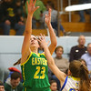 12-13-19<br /> Tri Central vs Eastern girls basketball<br /> Eastern's Kara Otto shoots.<br /> Kelly Lafferty Gerber | Kokomo Tribune
