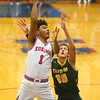 12-27-19<br /> Kokomo vs Eastern boys basketball in the Phil Cox Memorial Holiday Tournament<br /> Kokomo's Savion Barrett shoots.<br /> Kelly Lafferty Gerber | Kokomo Tribune