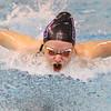 12-5-19<br /> Northwestern swimming<br /> Catherine Bath in the girls 200 IM.<br /> Kelly Lafferty Gerber | Kokomo Tribune
