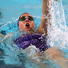 Northwestern's Jaylyn Harrison swimming the 200 yard IM during the swim meet between Kokomo HS and Northwestern HS on Monday December 16, 2019. <br /> Tim Bath | Kokomo Tribune