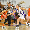 12-10-19<br /> Northwestern vs Hamilton Heights girls basketball<br /> NW's Madison Layden tries to steal the ball from HH's Bayleigh Runner.<br /> Kelly Lafferty Gerber | Kokomo Tribune