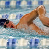 Northwestern's Austin Huskey swimming the 200 yard freestyle during the swim meet between Kokomo HS and Northwestern HS on Monday December 16, 2019. <br /> Tim Bath | Kokomo Tribune