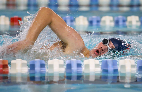 12-11-9<br /> Kokomo swimming<br /> Adam Behny in the boys 200 yard freestyle.<br /> Kelly Lafferty Gerber   Kokomo Tribune