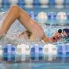 12-11-9<br /> Kokomo swimming<br /> Adam Behny in the boys 200 yard freestyle.<br /> Kelly Lafferty Gerber | Kokomo Tribune