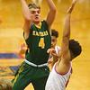 12-27-19<br /> Kokomo vs Eastern boys basketball in the Phil Cox Memorial Holiday Tournament<br /> Eastern's Matt Arcari puts up a shot.<br /> Kelly Lafferty Gerber | Kokomo Tribune