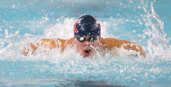12-11-9<br /> Kokomo swimming<br /> Loan Pitner in the boys 200 yard medley relay.<br /> Kelly Lafferty Gerber   Kokomo Tribune