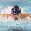 12-11-9<br /> Kokomo swimming<br /> Loan Pitner in the boys 200 yard medley relay.<br /> Kelly Lafferty Gerber | Kokomo Tribune