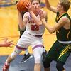 12-27-19<br /> Kokomo vs Eastern boys basketball in the Phil Cox Memorial Holiday Tournament<br /> Kokomo's Jackson Richards works to get to the basket.<br /> Kelly Lafferty Gerber | Kokomo Tribune