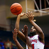 R.J. Oglesby shooting in the 4th quarter during Saturday afternoon action between the Kokomo Wildcats and South Bend Adams Eagles on December 28, 2019.<br /> Tim Bath | Kokomo Tribune