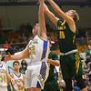 12-13-19<br /> Tri Central vs Eastern boys basketball<br /> TC's Jake Chapman and Eastern's Evan Monize go after a rebound.<br /> Kelly Lafferty Gerber | Kokomo Tribune