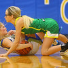 12-13-19<br /> Tri Central vs Eastern girls basketball<br /> Eastern's Lexi James and TC's Kenadie Fernung go after a loose ball.<br /> Kelly Lafferty Gerber | Kokomo Tribune